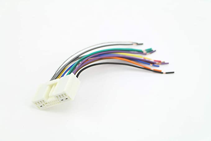 amazon.com: xtenzi car radio wire harness compatible with mazda cd dvd  navigation in-dash - xt7903-21  amazon.com