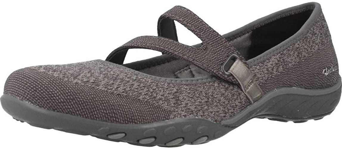 Skechers Breathe Easy Lucky Lady, Mary Janes Femme: Amazon