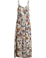keliang Vintage verão vestido mulheres vestido de verão boho cópia floral maxi vestido NEW vestidos de