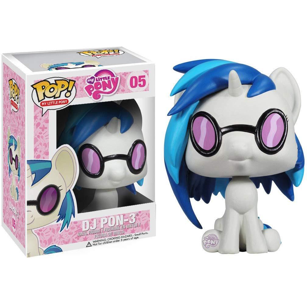 Vinyl Figure /& 1 POP Funko DJ Pon3: My Little Pony x POP #005 // 03379 - B Compatible PET Plastic Graphical Protector Bundle BCC9U5409