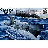 AFV Club Models 1/350 German U-Boat Type VII C