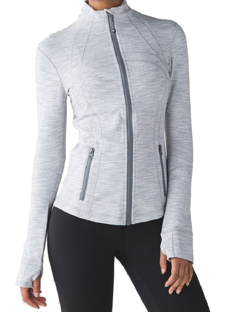 Lululemon Define Jacket (4, Wee Are From Space Ice Grey Alpine White) by Lululemon (Image #1)