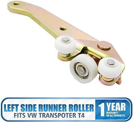 MASO 701843405b - Guía de rodamiento inferior para puerta corredera izquierda de T4 Transporter: Amazon.es: Coche y moto