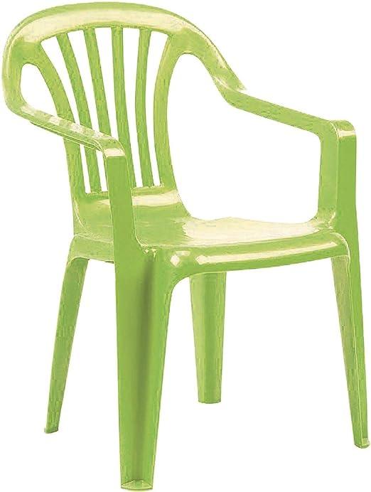 Ozalide - Sillón de jardín infantil, color verde: Amazon.es: Hogar