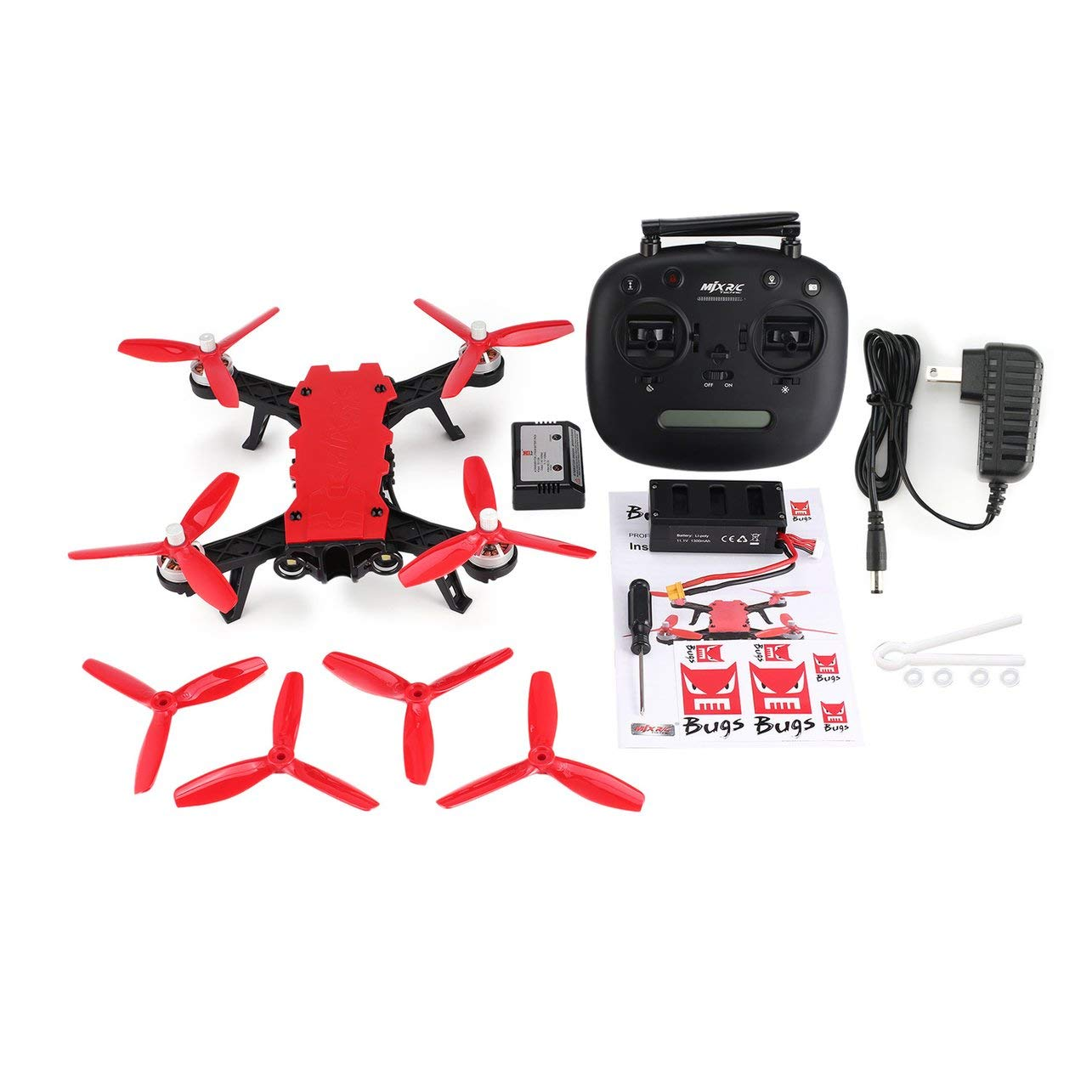 DeeploveUU MJX Bugs 8 Pro B8pro 2.4GHz 65km / h高速ブラシレスモーターRCレーシングドローンQuadcopter with 3Dフリップアングル/ Acroモード B07S2RBQM2
