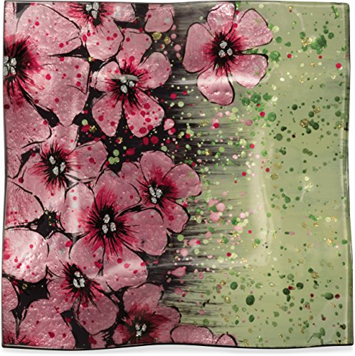 Blossom Cherry Plate (AngelStar Cherry Blossom Plate-8