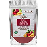 Super Organics Superfood Energy Blend | Beet, Cacao, Apple, Maca, Ginger & More | Organic Superfood Powder | Raw…