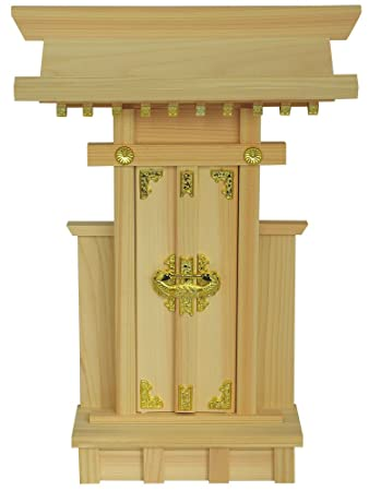 Japanese Home Shrine KAMIDANA Made of HINOKI 121006 (japan import) by  fitpost