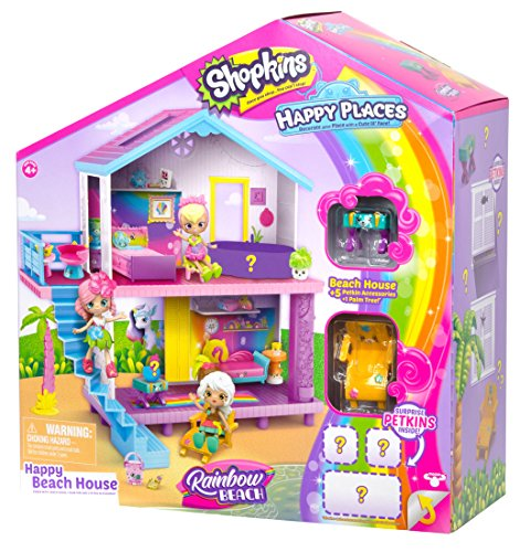 Shopkins Happy Places Rainbow Beach House Playset (Best Of Beach House)