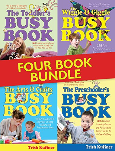 The Busy Book Bundle: Over 1400 Creative Learning Games and Activities to Keep Your Children Busy (Busy Books)