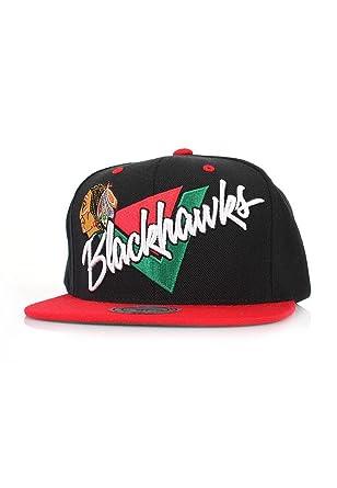 Amazon.com: Mitchell & Ness – Gorra Chicago Blackhawks nz03z ...