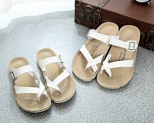 Sandales Mixte Homme Femme Chaussures ZongSen Sandales Chaussures Tongs Blanc Adulte U5CR4Yxq