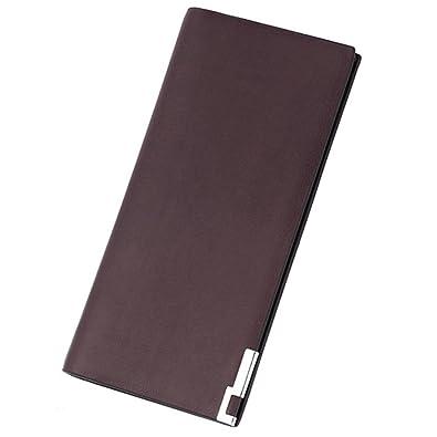 free shipping 63827 8dc65 (エンジェルムーン) AngelMoon 薄型 財布 長財布 軽量 メンズ スリム シンプル 二つ折り 薄い 軽量 スタイリッシュ