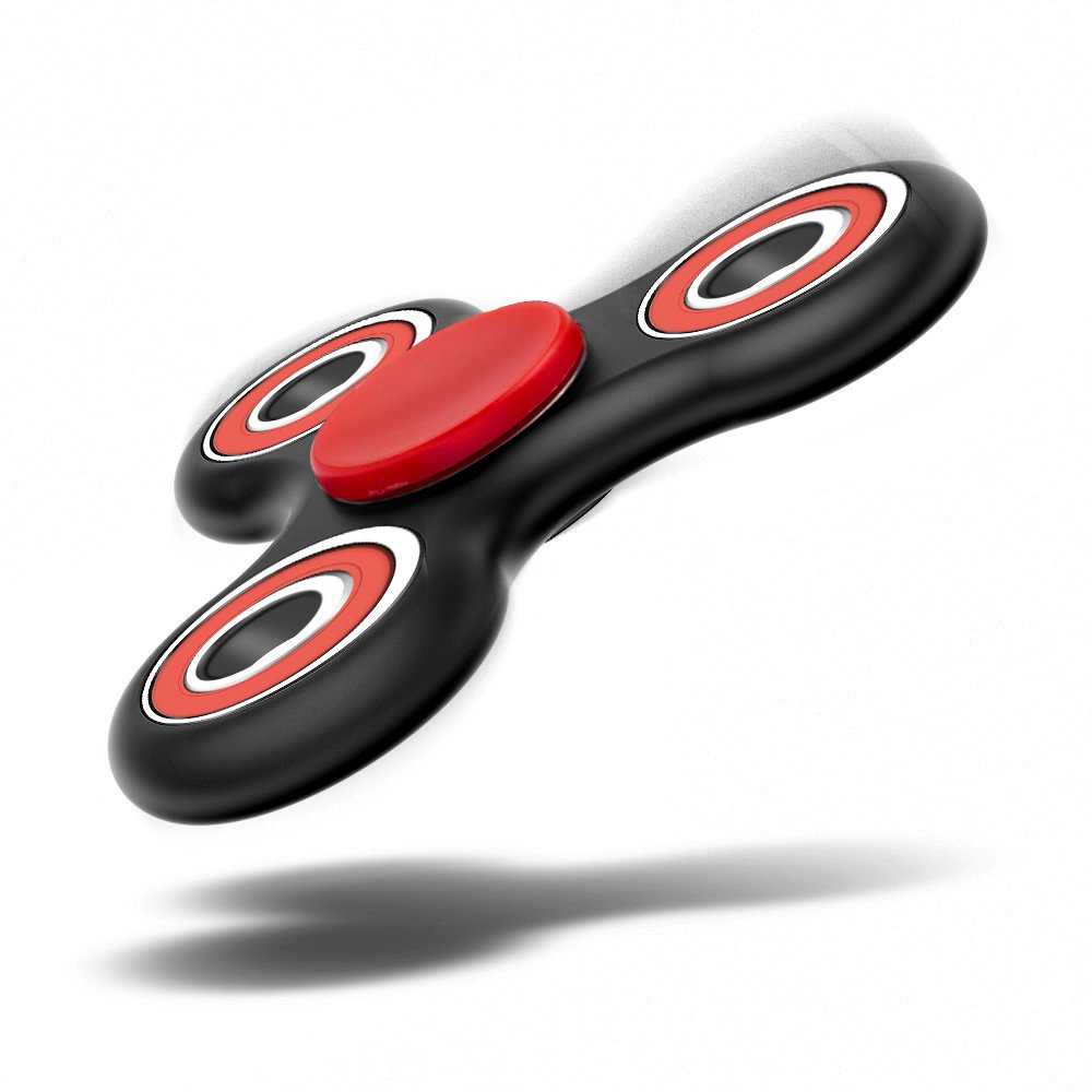 LYNEC Fidget Spinner, Hand Spinner Toy Stress Reducer - Perfect For ADD, ADHD, Anxiety, and Autism Adult Children