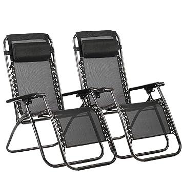 Amazon Com Bestmassage Zero Gravity Chair Patio Lounge Recliners