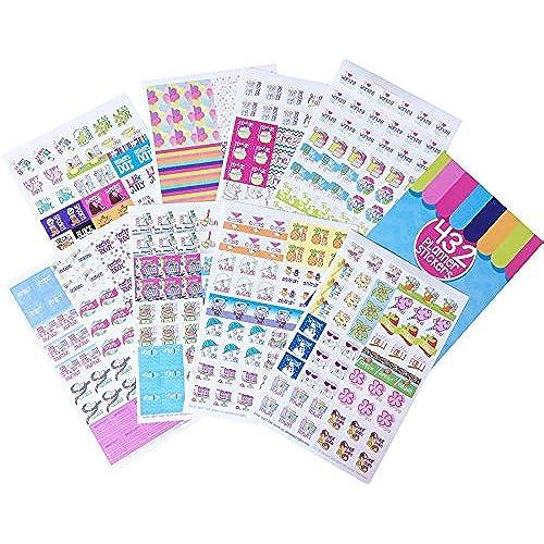 Calendar Planner Reminder Stickers : Calendar stickers planner amazon