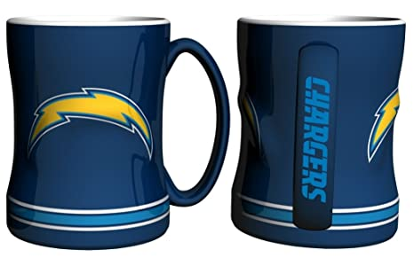 f172eaf62 Amazon.com   San Diego Chargers Coffee Mug - 14oz Sculpted Relief ...