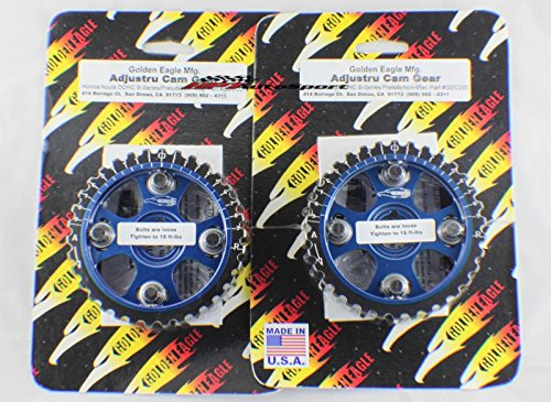 Golden Eagle Cam Gear B16/B18 B18C B18A B18B B16A Integra / Civic Blue (PAIR) (Cam Gears B16)