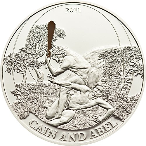 2011 PW Biblical Stories PowerCoin CAIN AND ABEL Silver Coin 2 Palau 2011 0.5 Oz Proof (0.5 Coin Silver Ounce)