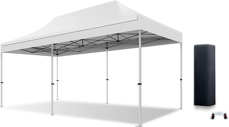 actiexpress tienda plegable carpa (cenador profesional 3 x 6 estructura de aluminio 40 mm techo 300 G/m² calidad Professionelle: Amazon.es: Hogar
