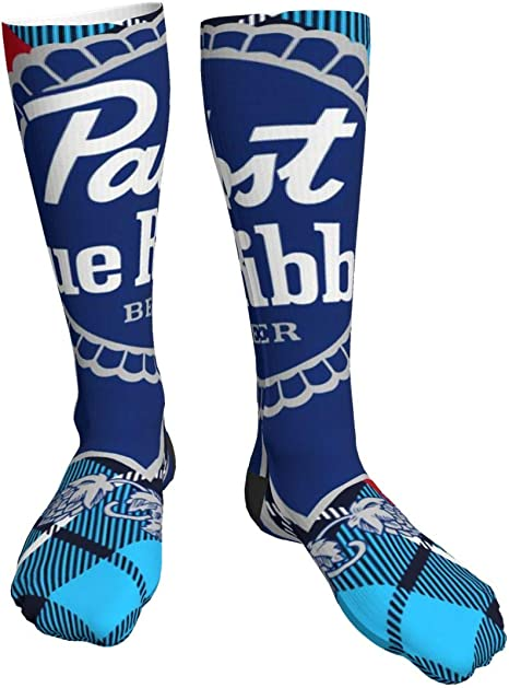 Pabst Blue Ribbon Socks