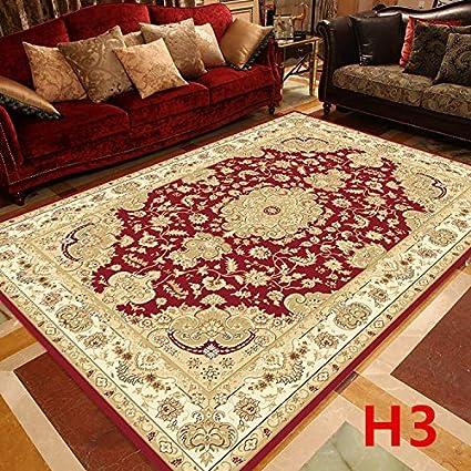 Soft Printed Rug Bedroom Living Room Floor Mat Carpets Anti-Skid European Table
