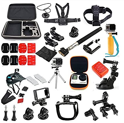 icase4u GoPro - Kit familiar de accesorios (36 en 1) para GoPro HD Hero
