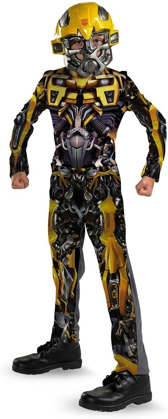 Tama-o Disguise DI50366-S Ni-o Transformers Bumblebee Costume ...