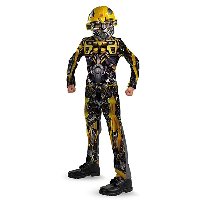 Amazon.com  Transformers Bumblebee Movie Classic Child Costume - Large  (10-12)  Clothing 8ff136a4b
