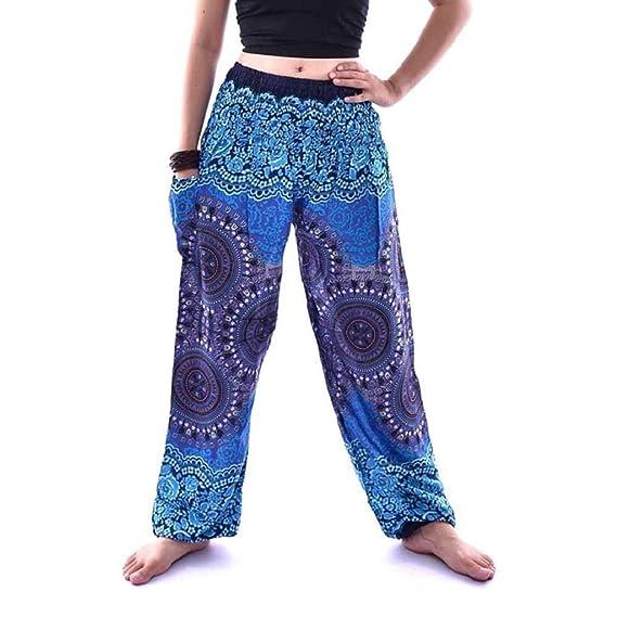 SHOBDW Pantalones Deportivos Mujeres Hombres Moda tailandesa ...