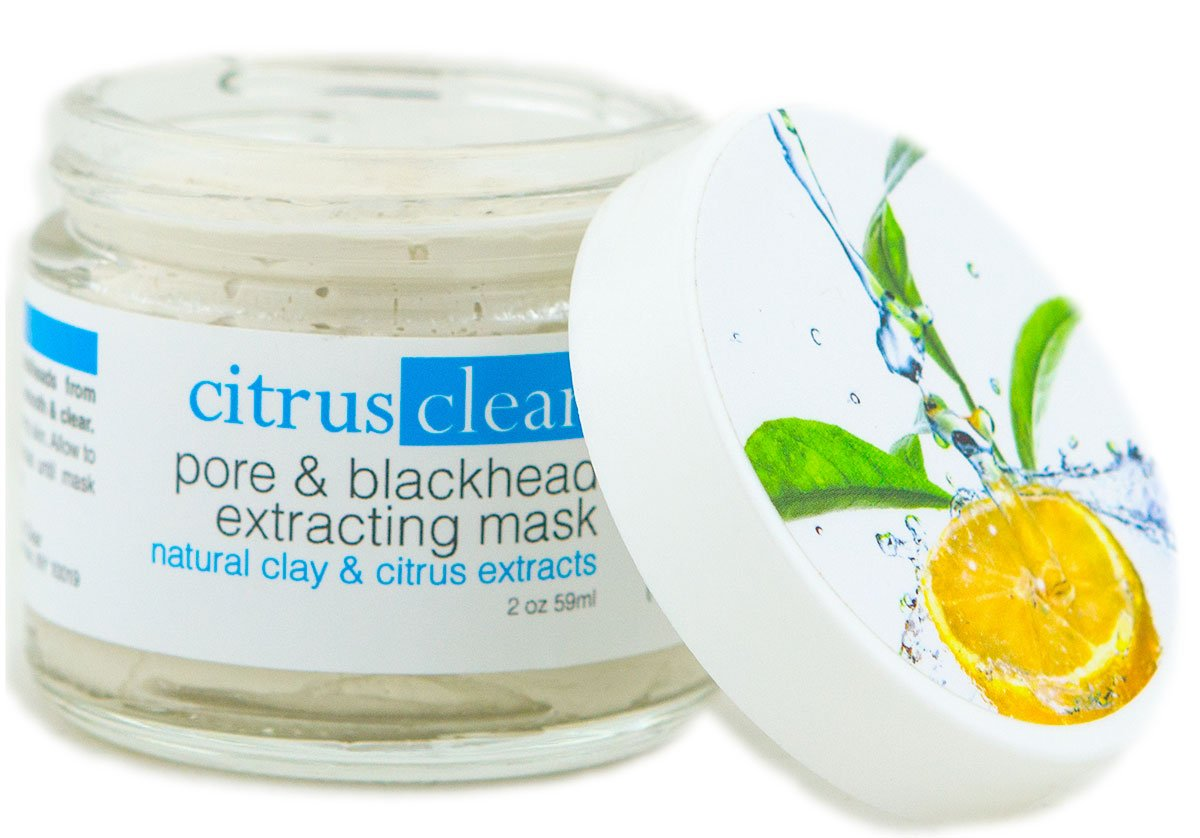 Pore & Blackhead Extracting Mask - with Organic Citrus Ingredients