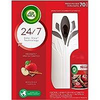 Air Wick Aromatizante Ambiental Freshmatic, Aparato y Repuesto, Manzana Canela, 250 ml