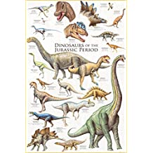 Eurographics 2450-0099 Dinosaurs of The Jurassic Period Poster