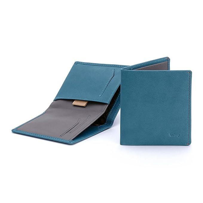 Cartera de Piel Bellroy para Hombre Note Sleeve Arctic Blue (Nuevo Modelo): Amazon.es: Equipaje
