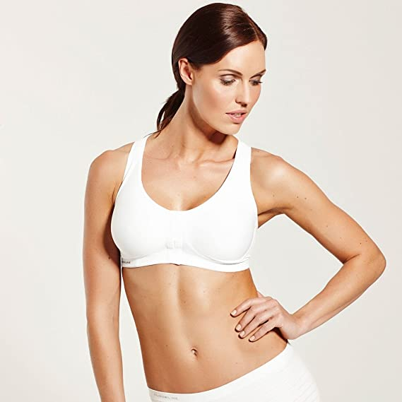 c3b76f8f55 Amazon.com  Pure Lime Double Support Front Closure Sports Bra Style 0092   Sports   Outdoors