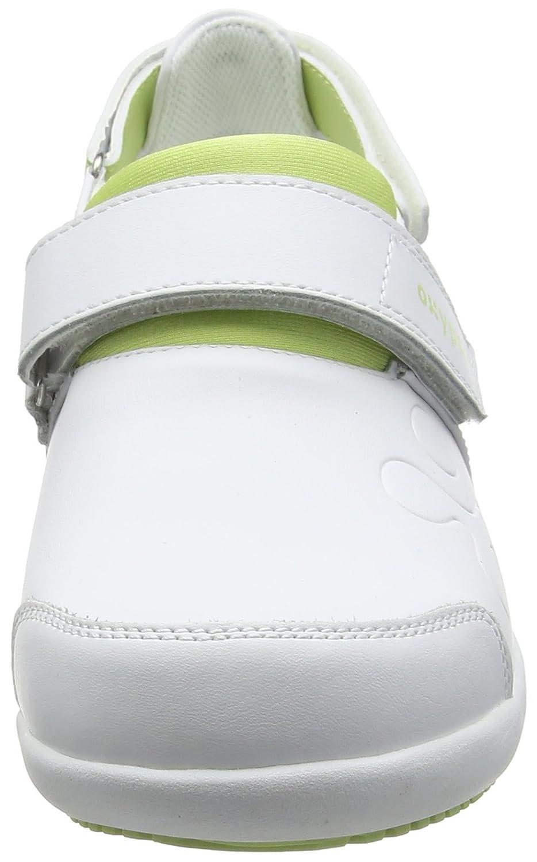Oxypas Oxypas Oxypas Move Up Salma Slip-resistant, Antistatic Nursing scarpe, bianca grigio (Light grigio), 5.5 UK (39 EU) 5bd4c4