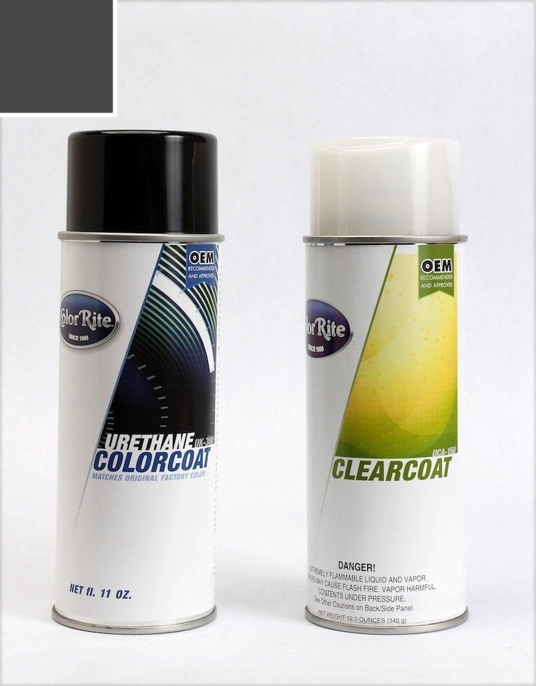 ColorRite Aerosol Chevrolet Equinox Automotive Touch-up Paint - Ashen Gray Metallic GLJ/WA810T - Value Package