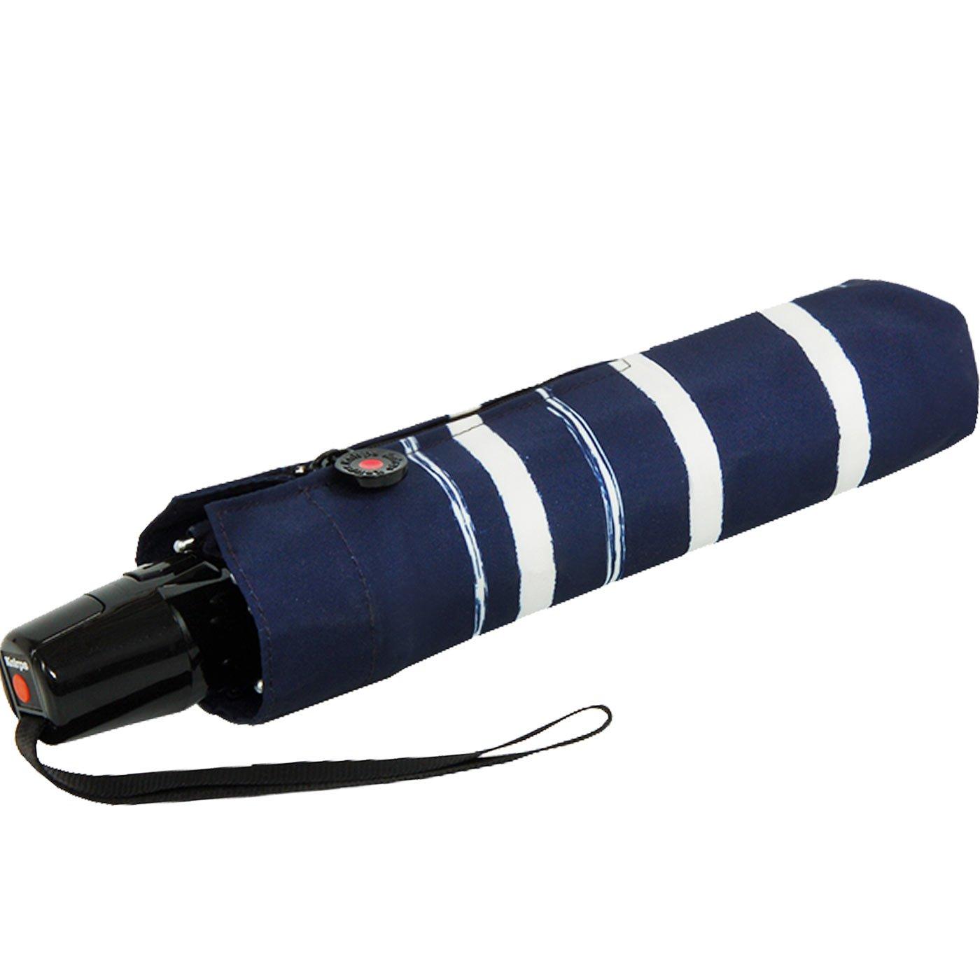 Knirps Fiber T2 Duomatic Stripe Art Navy 89878-4964