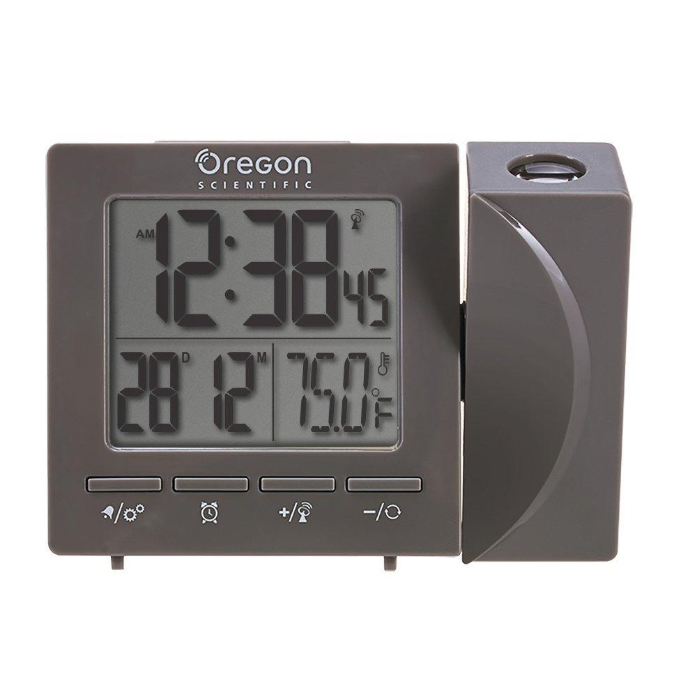 Amazoncom Oregon Scientific Travel Projection Atomic Clock