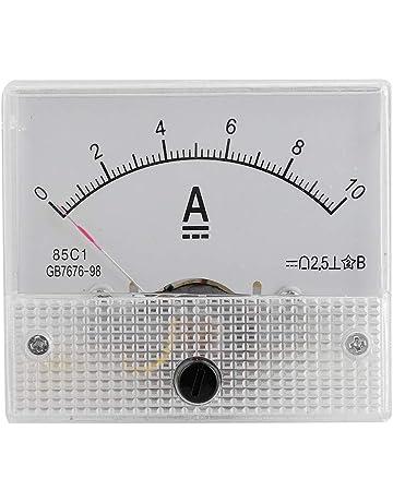 Sourcingmap 65/C5-a Amperometro pannello metro DC 30/a per circuito tester di prova Ampere gauge 1/pz
