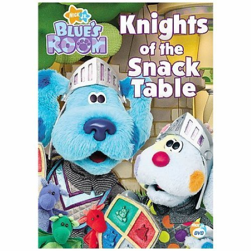 BLUES CLUES-BLUES ROOM-KNIGHTS OF THE SNACK TABLE (DVD) (ENG D