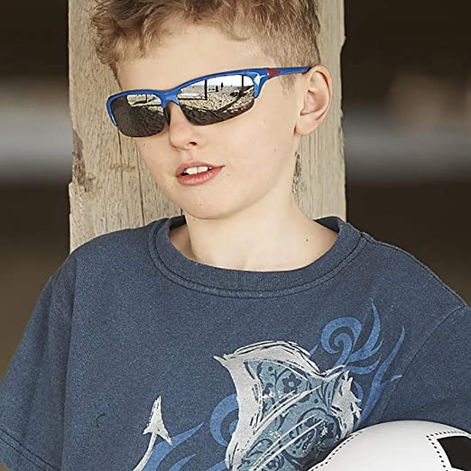 Real Kids 10BLDWHNVP2 Bolt P2 Kindersonnenbrille