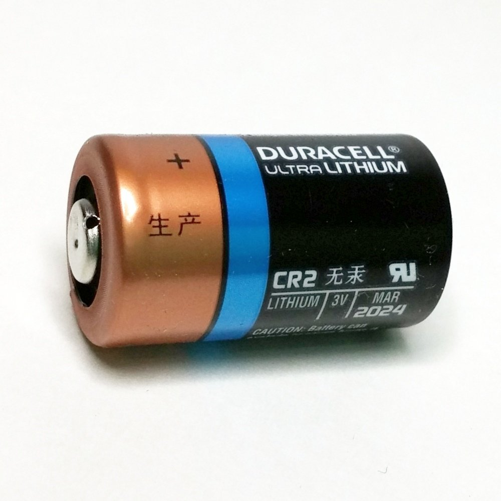 Duracell Ultra CR2 3v Lithium Photo Battery DL-CR2 8 Pack