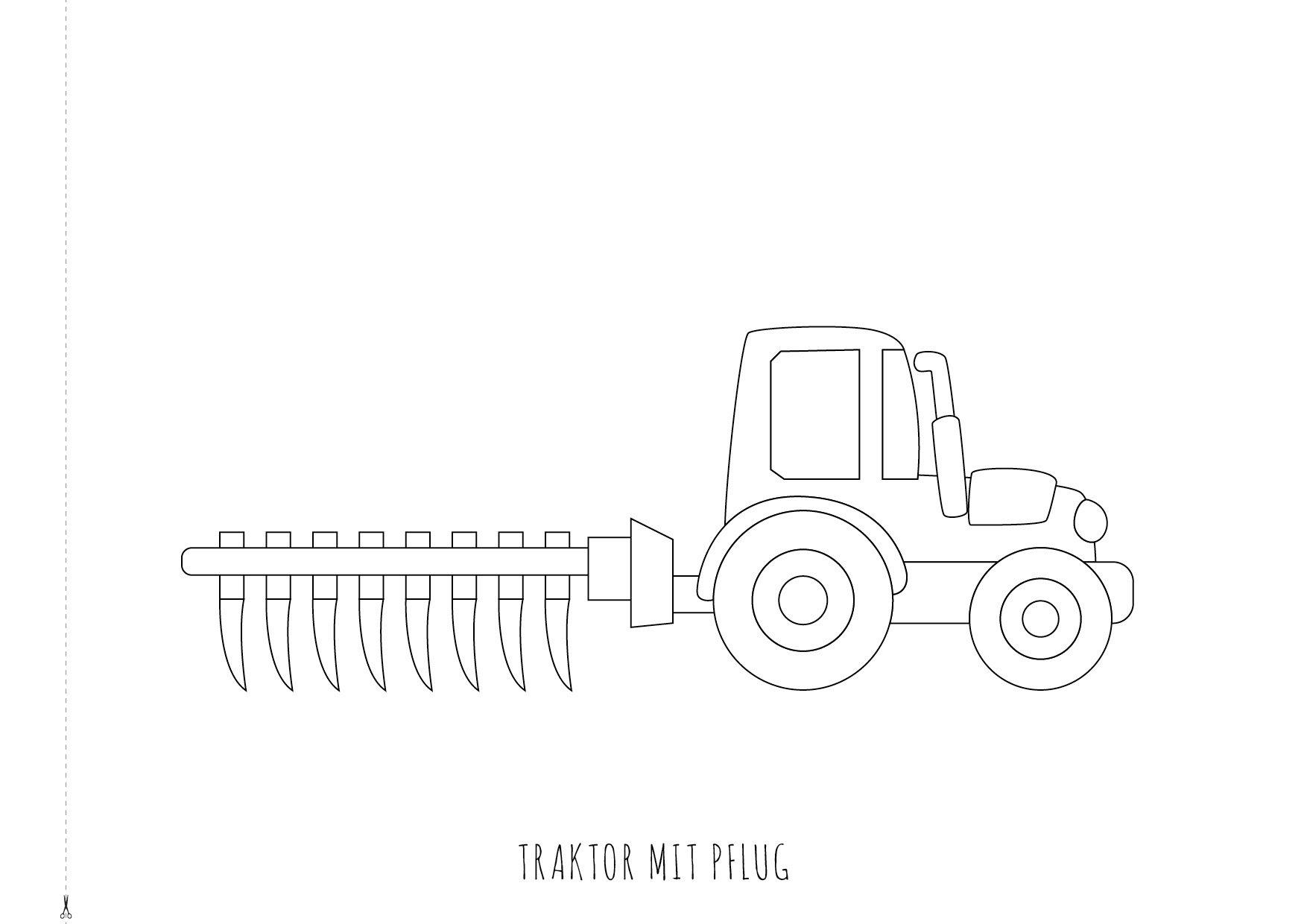 Ausmalbilder Traktor Mit Pflug : Ungew Hnlich Malb Cher F R Traktor Ideen Malvorlagen Von Tieren