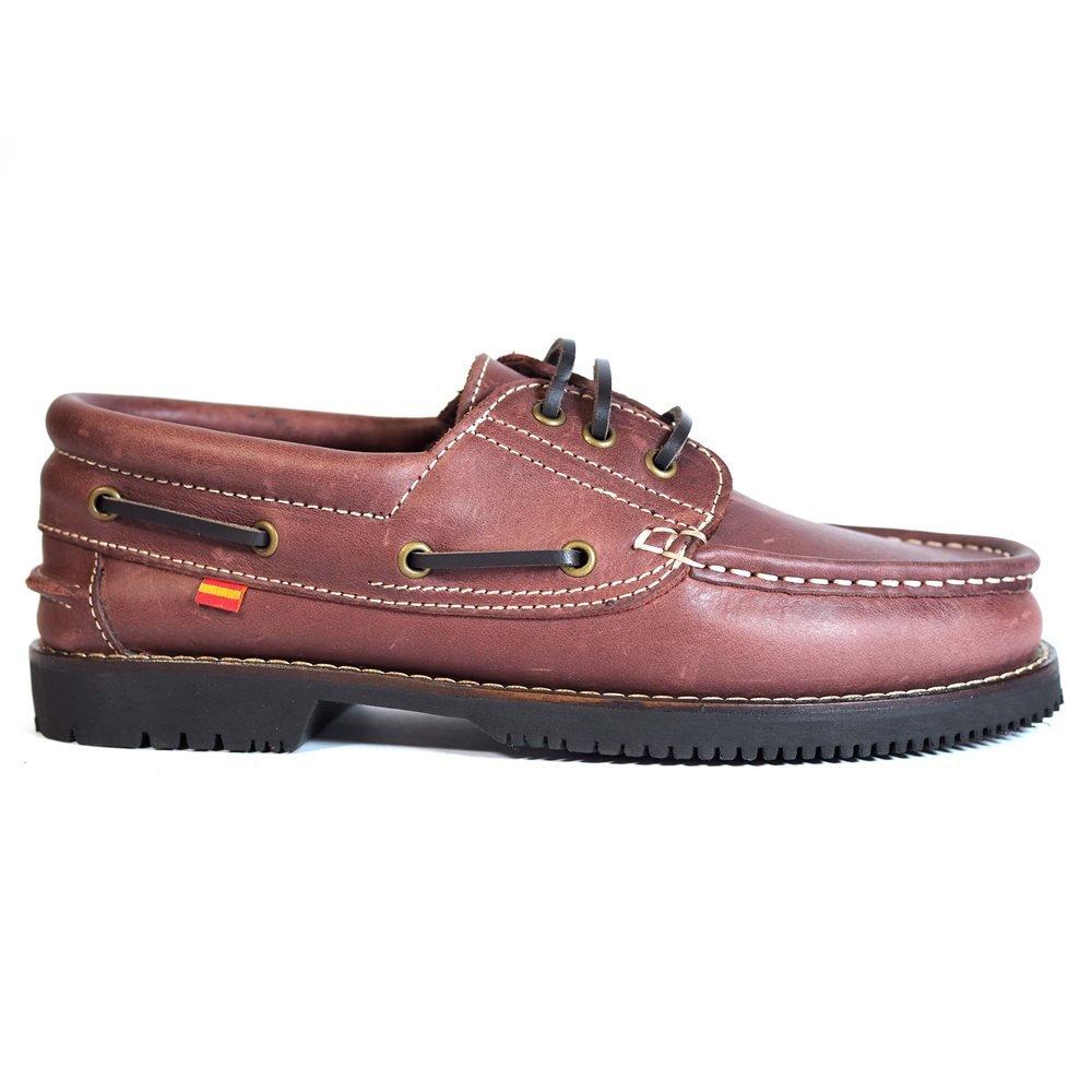 Zapatos Línea Apache Cordón Burdeos 43 EU|Burdeos