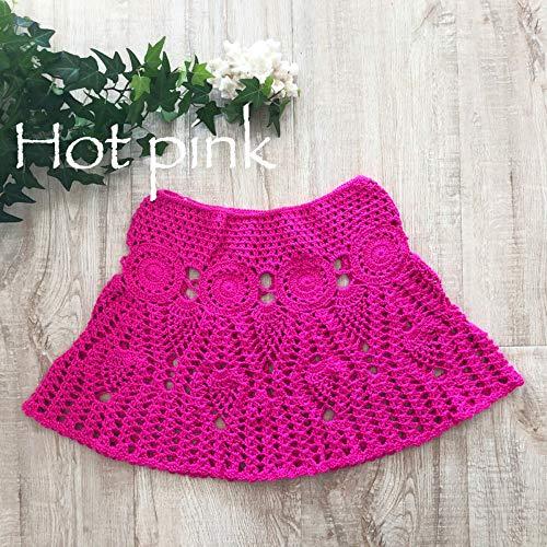 Hollow Qzbtu line Mujer Talla Mano Out De Playa Punto Crochet A Falda Única A Hecha Minifalda Faldas wRrYw0