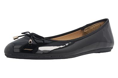 Noir Femme Noir Footwear Fitters Pour Ballerines qwBHxFI