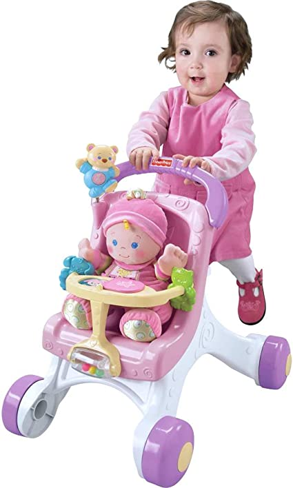 Amazon.com: Andador Fisher-Price para caminar básico ...
