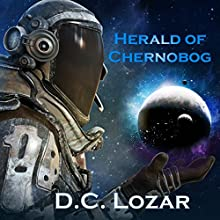Herald of Chernobog: Cthulhu's Yuggoth Audiobook by D. C. Lozar Narrated by Alexander Doddy