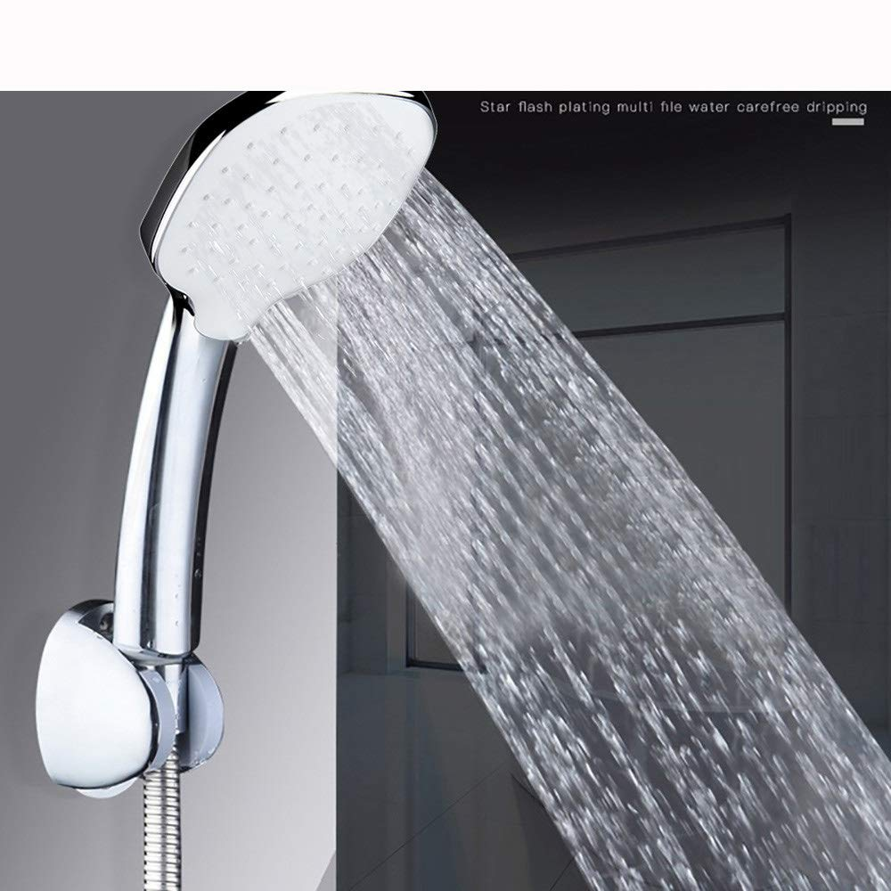 MOVEmen Hand Shower High Pressure Adjustable Shower Head Top Spray Bathroom Water Saver Garden Shower Benchtop High Pressure Shower Faucet Temperature Control Watering Device Fountain Tap